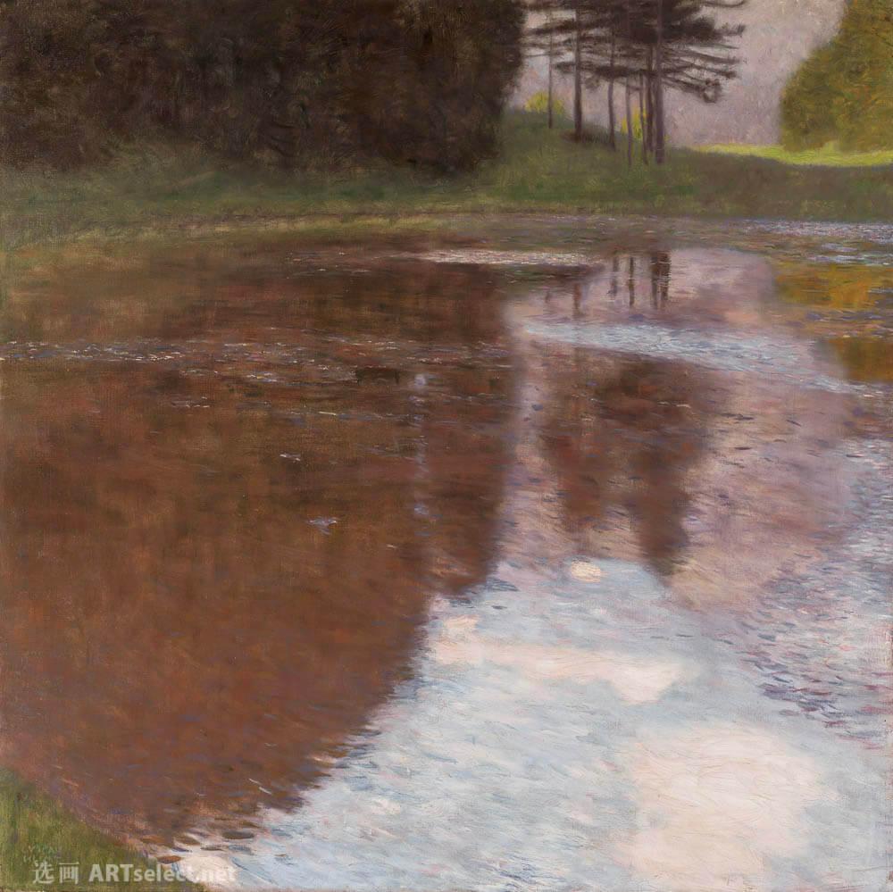 宁静的池塘