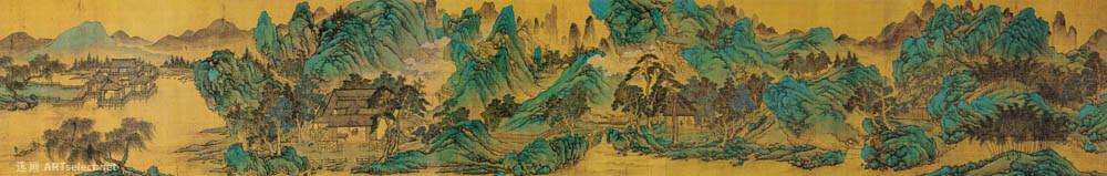 明 仇英 辋川十景图3
