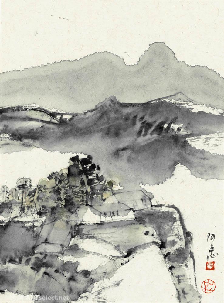 黄阿忠 山水2